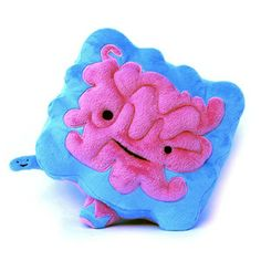 Every child wants an Intestine plush. It's never too early to begin anatomy lessons.
