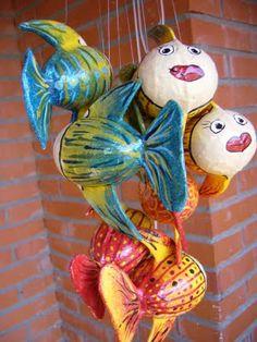 Papier Maché fish