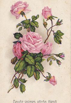 открытки старые цветы: 18 тыс изображений найдено в Яндекс.Картинках