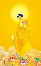 Image result for 阿彌陀佛 Buddha Figures, Tinkerbell, Disney Characters, Fictional Characters, Disney Princess, Image, Art, Art Background, Kunst