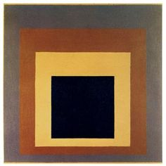 Joseph Albers  Homage to the Square  1976