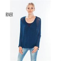 Maria Luisa Boutique | ML by Maria Luisa - Wooden Ships Wren Long Sleeve V-Neck Sweater, sweaters, jumpers, top, layering, K36CA3SW547, G-K36CA3SW547, women's, ladies