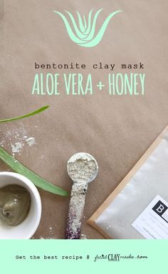 The BEST Aloe Vera Clay Mask Recipe with Honey + Bentonite -  One thing is clear, Bentonite is pretty darn good at fighting acne and blemishes. Hands down.  But it can be drying on your skin.  Try adding aloe vera and honey to your bentonite clay mask to add a hydrating effect while working on those breakouts.  It works wonders for me!    #honey #aloevera #aloe   - #DiyAcneFaceMask #DiyAcneFaceMaskaloevera #DiyAcneFaceMaskbakingsoda #DiyAcneFaceMaskblackheads #DiyAcneFaceMaskitworks…