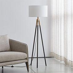 Ikea Floor Lamp, Corner Floor Lamp, Brass Floor Lamp, Industrial Floor Lamps, Modern Floor Lamps, Industrial Living, Discount Vinyl Flooring, Pipe Lamp, Tripod Lamp