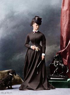 colorized victorian portraits 17