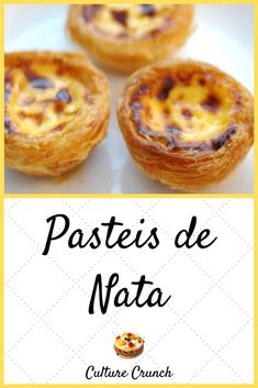 Cooking Chef, Cooking Recipes, Just Desserts, Dessert Recipes, Egg Tart, Thermomix Desserts, Portuguese Recipes, Food Lists, Food Inspiration
