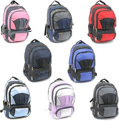"18"" premium large backpack Case of 24"
