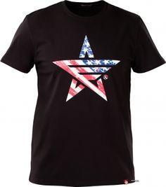 Мужская футболка Airboss Usn 2XL Black (MSU365856)