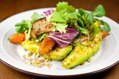 ABC Kitchen's Carrot and Avocado Salad with Crunchy Seeds   The Dr. Oz Show