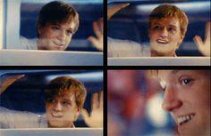 Every time Peeta Mellark/Josh Hutcherson smiles, a puppy is born.