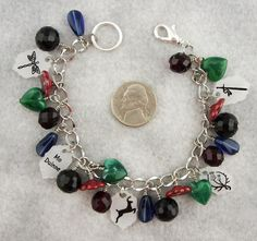 Outlander Funky Bracelet.  This was a custom order so only one was made.