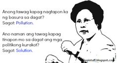 Love her or hate her, Miriam Defensor-Santiago is undoubtedly one of the wittiest Filipinos to have ever lived. Snap Quotes, Jokes Quotes, Smile Quotes, Cute Quotes, Book Quotes, Tagalog Quotes Hugot Funny, Pinoy Quotes, Hugot Quotes, Miriam Defensor Santiago
