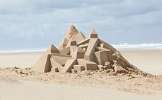 A modern day sand castle Hermes Online, Better Than Yours, Beach Kids, Tumblr, Image Photography, Sculpture Art, Monument Valley, Castle, In This Moment