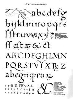 claude-mediavilla-calligraphie-humaniste humanistic miniscules