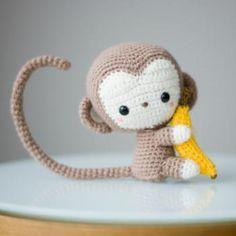 Kiko kawaii baby monkey amigurumi pattern