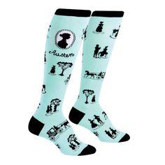 Jane Austen Socks at Bas Bleu | UL8752