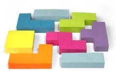 Tetris Sticky Notes - LOVE IT!