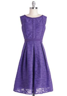 Amethyst Is Us Dress, #ModCloth