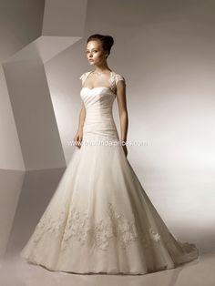 6aa88a54f89 Anjolique Wedding Dresses - Style 2107 Wedding Dress Train