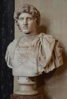 Alexander III the Great (born in Pella on July 20, 356 - died in Babylon on June 10, 323 B.C.) - Macedonian Greek King and conqueror of most of the known world. His legendary upbringing, his studies with Aristotle, his horse Bucephalus and the history of his advance into the East seem mythical. He has been judged to be the greatest of the Greeks by Greeks throughout history.