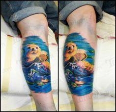 sea otter tattoos - Google Search