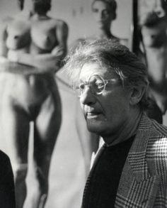Helmut Newton, Berlin, 1990 by Klaus Behr