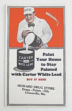 Carter White Lead Paint