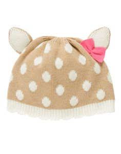 Fawn Sweater Hat at Gymboree Collection Name: Fairy Tale Forest