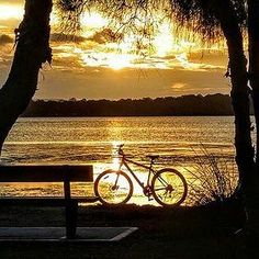 #photography #photo #photos #picture #pictures #pic #pics #snapshot #art #beautiful #instagood #picoftheday #photooftheday #color #all_shots #exposure #composition #focus #capture #moment #Australia #Sunset #gold #sun  #beautiful #orange #sky  #nature  #sunrays.#Bike #picphotographer