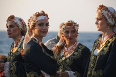 Cypriot Turks in traditional clothes (x)