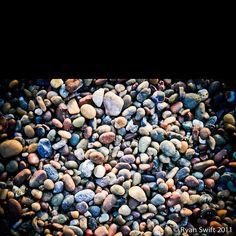 Moonstone Beach...rock heaven.