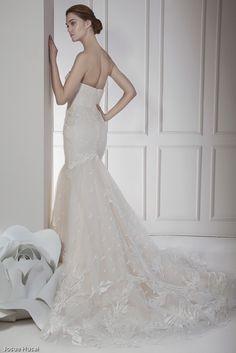Vestido de Novia OLIVO espalda.