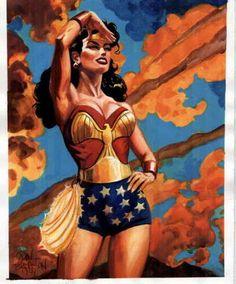 Wonder Woman by Dan Brereton