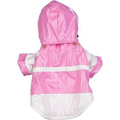 Two-Tone Pvc Waterproof Adjustable Pet Raincoat ** Startling review available here  : Dog coats