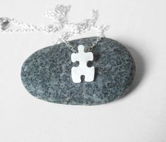 Silver Jigsaw Necklace - Featured Goods Uncovet