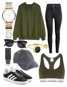 """""""hAVe YOu lOvED yoUrSElf 2DaY?"""" by caroline-sjogaard ❤ liked on Polyvore featuring Burberry, ASOS, Marc by Marc Jacobs, adidas Originals, Lisa Angel, H&M and Calvin Klein Underwear"""