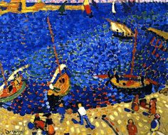 Boats at Collioure Andre Derain - 1905
