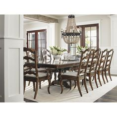 Lexington Home Brands Cedar Falls Rectangular Dining Table 945-876C