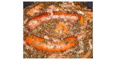 Saucisses - Lentilles