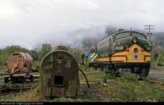 RailPictures.Net Photo: NP 7012A Northern Pacific Railway EMD F9 at Mineral, Washington by Tom Farence