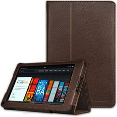CaseCrown Bold Standby Case (Brown) for Amazon Kindle Fire Tablet