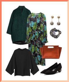Wear your floral maxi dress to the office and look stunning doing so.