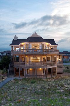 Golden Eye- 6 bedroom  vacation home at Sanderling with direct beach access and amazing views.