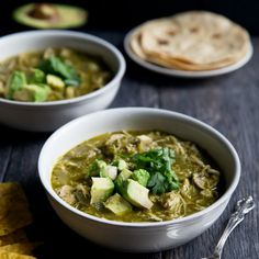 Slow Cooker Chicken Chile Verde More