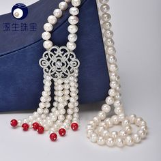 Aliexpress.com : Buy pearl jewelry New Real Pearl Necklace Women Freshwater Pearl necklace jewerly genuine Natural Necklace YSN016 from Reliable necklace pouch suppliers on pearls by yuansheng