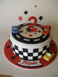Lightning Mcqueen on Cake Central Más