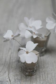 Mon bouquet de mariée - Grange de charme fabric flowers <3<3