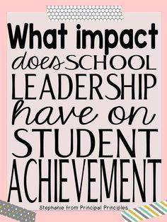 Principal Principles: The Impact of School Leadership on Student Achievement