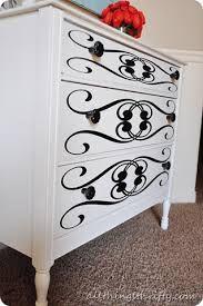 stenciled furniture - Google Search