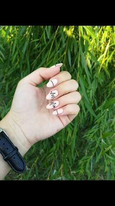 Projektowanie paznokci tutaj! ♥ Zdjęcia ♥ Filmy ♥ Manicure lekcje | VK Manicure, Nails, Rings For Men, Oval Shape, Almond, Jewelry, Fashion, Nail Bar, Finger Nails